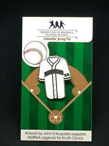 Jackie Robinson Kansas City Monarch's Negro League jersey lapel pin-Best Seller
