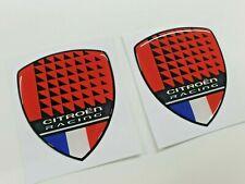 Citroen C1 C2 VTR VTS  C3 C4 C5  Racing wing Badges Stickers 70mm tall Xara Saxo
