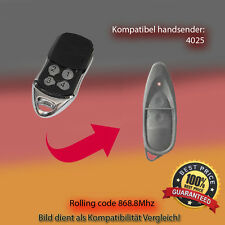 4025 TX03-868-4 Kompatibel Handsender, Ersatz Sender, 868.8 MHz keyfob
