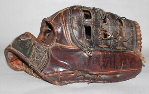Vintage 1960's MacGregor model KCX Kangaroo leather baseball glove