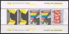 Nederland 1366 Kinderzegels 1986  blok  gestempeld/USED