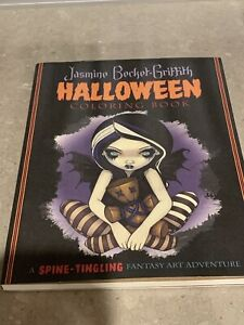Jasmine Becket-Griffith Halloween Coloring Book By Jasmine Becket-Griffith