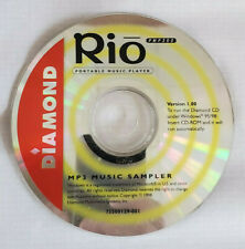 Install Disc for Vintage Diamond Rio Pmp300 Mp3 Player (Disc Only)