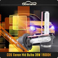 2 x 35W D2S XENON HID HEADLIGHT BULBS 15000K FOR BMW AUDI MERCEDES OPEL VW NEW