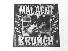Malachi Krunch/sold on Murder-split LP
