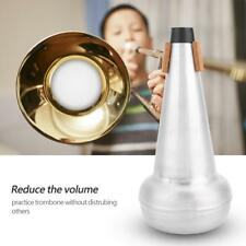 Professional Tenor Trombone Mute Practice Silencer Sourdine Aluminium Alloy