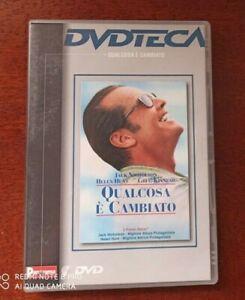 DVD - JACK NICHOLSON - QUALCOSA E' CAMBIATO