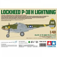 Tamiya 1/48 Lockheed P-38H Lightning Limited Edition TAM25199