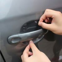 4pcs Sheets Clear Adhesive Car Door Handle Paint Protector Scratch Film Guard
