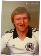 Horst Hrubesch + Fußball Nationalspieler DFB + Fan Big Card Edition B384 +