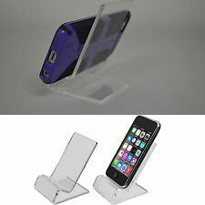 Universal Clear Acrylic Mount Holder Display Stand for Cell Phones Smartphones