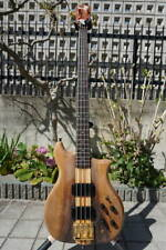 Used 1980 Kawai F 2 Alembic Style Electric Bass 4 String Bass With Finger Rest