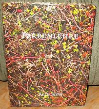 New Alec Soth Farbenlehre Company Photobook Michael Mack Photographs 1st HC DJ