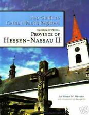 Hessen-Nassau II - RB Kassel German Map Guide