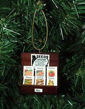 Garden Seed Display, Gardening Christmas Ornament