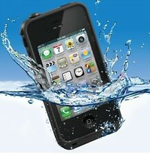 Waterproof Water Proof Snowproof Shockproof shock case cover for Iphone 4 4S