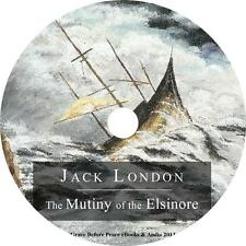 The Mutiny of the Elsinore, Jack London Audiobook unabridged Fiction on 1 MP3 CD