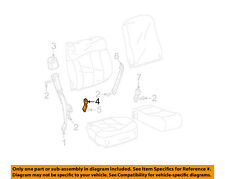 GM OEM Front Seat Belt-Buckle End 88957875