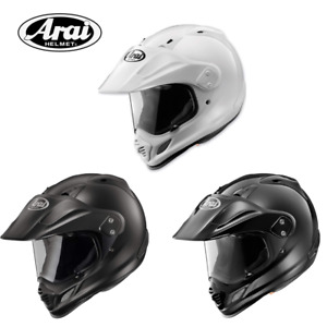 Arai XD-4 Dual Sport Helmet Black Frost White Adventure Motorcycle Road Bike MX