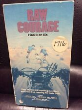 raw courage vhs rare