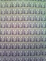 US Scott 1008 NATO MNH 3 Cent 3c Sheet of 100 Stamps