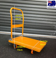 350 KG FLAT BED TROLLEY Folding Platform Truck Heavy Duty hand cart steel