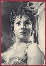 GINA LOLLOBRIGIDA 34 ATTRICE ACTRESS CINEMA MOVIE STAR PEOPLE Cartolina