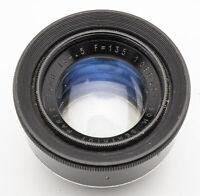 SOM Berthiot Paris Flor 4.5 135mm Teleobjektiv - M39 mount