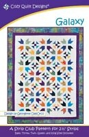 Galaxy Quilt Pattern by Cozy Quilt Designs