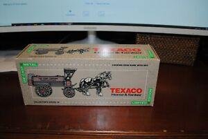 TEXACO ADVERTISING ERTL HORSE AND TANKER LMTD ED COIN BANK MPN 9390VP