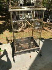 Large Medium Parrot Amazon Goffin Cockatoo Macaw Bird Cage