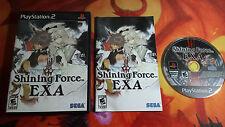 SHINING FORCE EXA NTSC USA PLAYSTATION 2 PS2