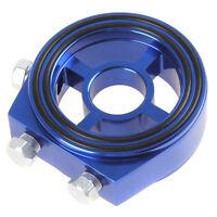 Blue Racing Sport JDM Aluminum Oil Filter Sandwich Adapter Plate Kit