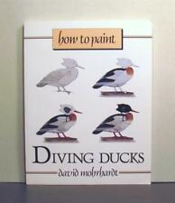 How to Paint Diving Ducks, An Overview of Brushes, Painting Mediums and Surfaces