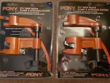 "Lot 2 Pony 2 in 1 #56  Deep Reach & Spreader Fixture Pipe clamp for 3/4"" Pipe"