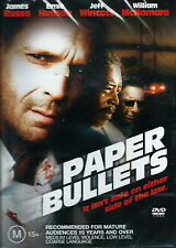 Paper Bullets - Action / Thriller - James Russo, Ernie Hudson - NEW DVD