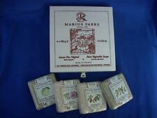 French Marius Fabre Soapbox Gift Set - 4 Triple Milled Soaps 100g each