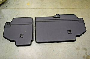 Land Rover Discovery 2 Rear 2nd Row Seat Back Panel Trim Board Left & Right 2004