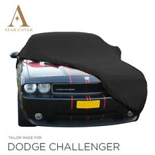 DODGE CHALLENGER INDOOR CAR COVER - TAILORED  - BERLIN BLACK- CUSTOM COVERS