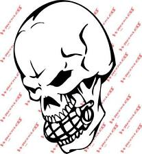 New Skull and Grenade decals Car  2 For 1 SALE Truck
