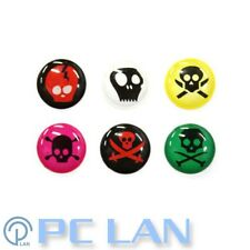 6 PCS Skeleton C Home Button Sticker for iPhone New iPad 1 2 3 4 + Bonus Set