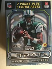 2013 TOPPS STRATA FOOTBALL BLISTER BOX FACTORY SEALD