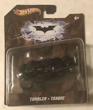Hot Wheels Batman Tumbler Die Cast Car - 1:50 (New) The Dark Knight (2011) Black