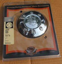 25421-04 Original Harley NOS Chrome Billet Derby Cover VRSC VRod 02-Later U-2071