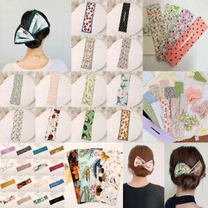 Deft Bun Knotted Wire Hair Band Print Headband Twist Magic Maker Hair Accessory/