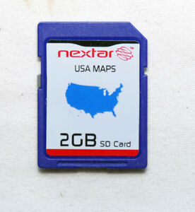 One (1) - genuine Sandisk 2GB SD card cards BLANK