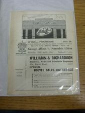30/04/1966 Luton District & South Bedfordshire Wiliam Pease Jubilee Trophy Final