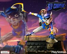 GAMING HEADS SLY COOPER STATUE BRAND NEW RARE PLAYSTATION 2 VIDEO GAME ONLY 750
