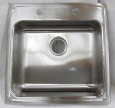 Elkay LRAD2222503 Gourmet 3-Hole Single Basin Drop In Sink Stainless Steel