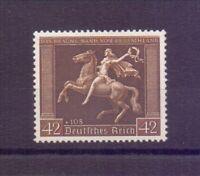 Dt. Reich 1938 - Braunes Band - MiNr.671 x senkr. Riffl.- Michel 280,00 € (089)